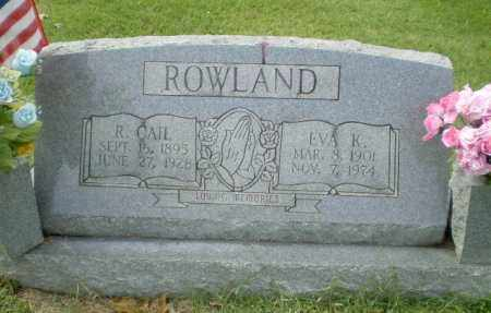 ROWLAND, EVA K - Greene County, Arkansas | EVA K ROWLAND - Arkansas Gravestone Photos