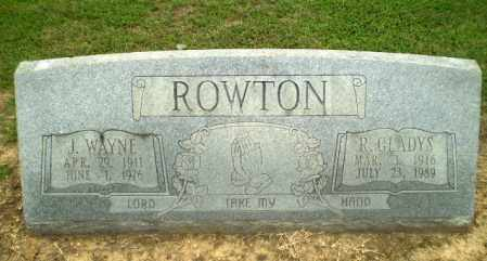 ROWTON, R. GLADYS - Greene County, Arkansas | R. GLADYS ROWTON - Arkansas Gravestone Photos