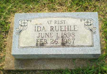 RUEHLE, IDA - Greene County, Arkansas | IDA RUEHLE - Arkansas Gravestone Photos