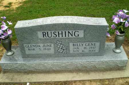 RUSHING, BILLY GENE - Greene County, Arkansas | BILLY GENE RUSHING - Arkansas Gravestone Photos