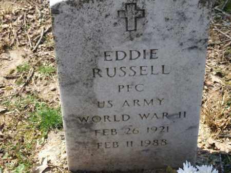 RUSSELL (VETERAN WWII), EDDIE - Greene County, Arkansas | EDDIE RUSSELL (VETERAN WWII) - Arkansas Gravestone Photos