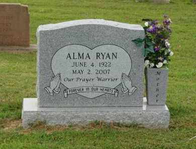 RYAN, ALMA - Greene County, Arkansas | ALMA RYAN - Arkansas Gravestone Photos