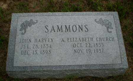 SAMMONS, JOHN HARVEY - Greene County, Arkansas | JOHN HARVEY SAMMONS - Arkansas Gravestone Photos