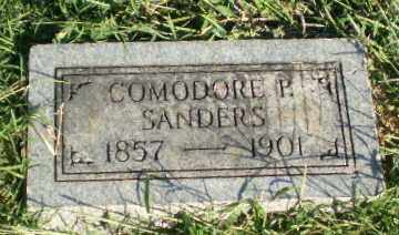 SANDERS, COMODORE P - Greene County, Arkansas | COMODORE P SANDERS - Arkansas Gravestone Photos