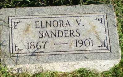 SANDERS, ELNORA V - Greene County, Arkansas | ELNORA V SANDERS - Arkansas Gravestone Photos
