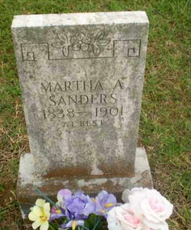 SANDERS, MARTHA A - Greene County, Arkansas | MARTHA A SANDERS - Arkansas Gravestone Photos