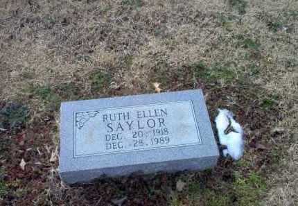 SAYLOR, RUTH ELLEN - Greene County, Arkansas | RUTH ELLEN SAYLOR - Arkansas Gravestone Photos