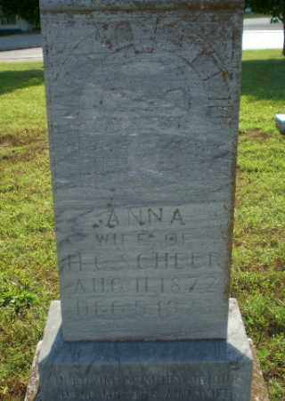 SCHEER, ANNA - Greene County, Arkansas | ANNA SCHEER - Arkansas Gravestone Photos