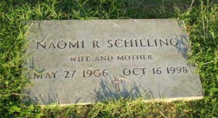 SCHILLING, NAOMI R - Greene County, Arkansas | NAOMI R SCHILLING - Arkansas Gravestone Photos