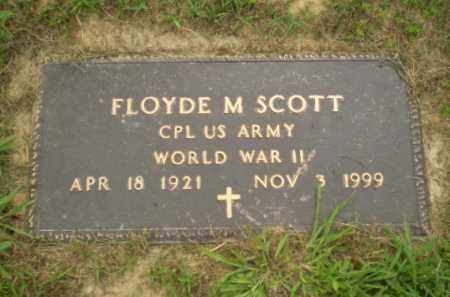 SCOTT  (VETERAN WWII), FLOYDE M - Greene County, Arkansas | FLOYDE M SCOTT  (VETERAN WWII) - Arkansas Gravestone Photos