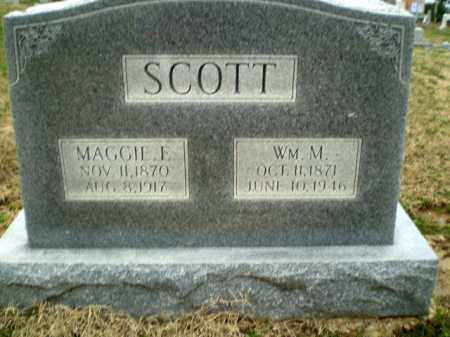 SCOTT, WM M - Greene County, Arkansas | WM M SCOTT - Arkansas Gravestone Photos