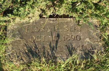 SEAY, FLORA E - Greene County, Arkansas | FLORA E SEAY - Arkansas Gravestone Photos