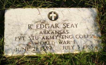 SEAY (VETERAN WWI), R. EDGAR - Greene County, Arkansas | R. EDGAR SEAY (VETERAN WWI) - Arkansas Gravestone Photos