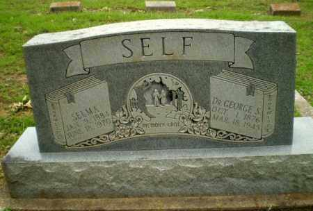 SELF, DR. GEORGE S - Greene County, Arkansas | DR. GEORGE S SELF - Arkansas Gravestone Photos