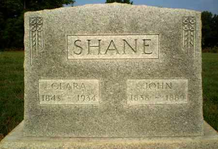 SHANE, JOHN - Greene County, Arkansas | JOHN SHANE - Arkansas Gravestone Photos