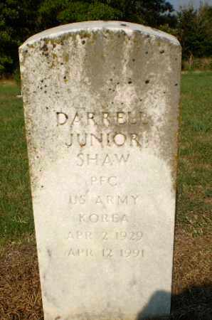 SHAW (VETERAN KOR), DARRELL JUNIOR - Greene County, Arkansas | DARRELL JUNIOR SHAW (VETERAN KOR) - Arkansas Gravestone Photos