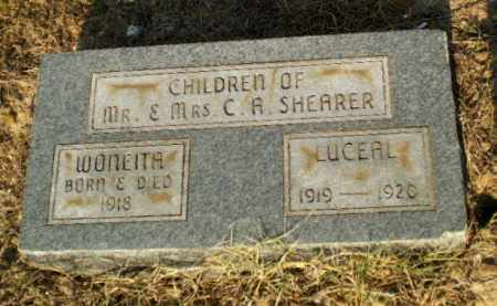 SHEARER, WONEITA - Greene County, Arkansas | WONEITA SHEARER - Arkansas Gravestone Photos