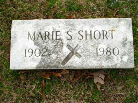 SHORT, MARIE - Greene County, Arkansas | MARIE SHORT - Arkansas Gravestone Photos