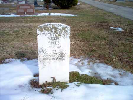 SIKES  (VETERAN), ELZIE - Greene County, Arkansas | ELZIE SIKES  (VETERAN) - Arkansas Gravestone Photos