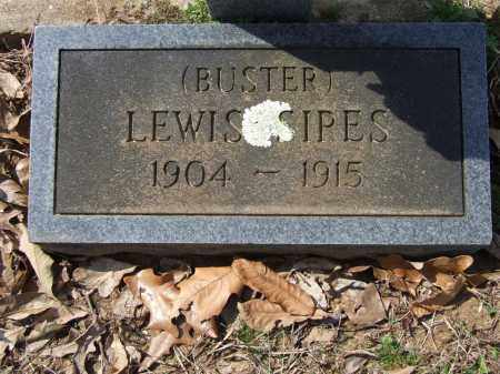 SIPES, LEWIS (BUSTER) - Greene County, Arkansas | LEWIS (BUSTER) SIPES - Arkansas Gravestone Photos