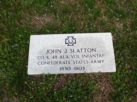 SLATTON  (VETERAN CSA), JOHN J - Greene County, Arkansas | JOHN J SLATTON  (VETERAN CSA) - Arkansas Gravestone Photos