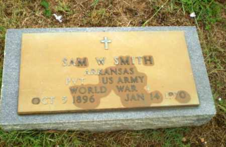 SMITH  (VETERAN WWI), SAM W - Greene County, Arkansas | SAM W SMITH  (VETERAN WWI) - Arkansas Gravestone Photos