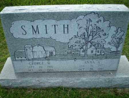 SMITH, ANNA A - Greene County, Arkansas | ANNA A SMITH - Arkansas Gravestone Photos