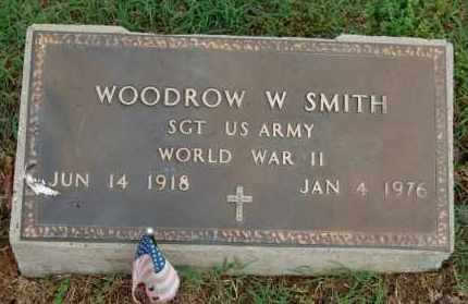 SMITH (VETERAN WWII), WOODROW W - Greene County, Arkansas | WOODROW W SMITH (VETERAN WWII) - Arkansas Gravestone Photos