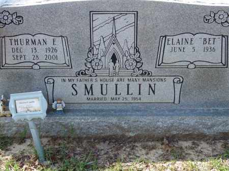 SMULLIN, THURMAN E. - Greene County, Arkansas | THURMAN E. SMULLIN - Arkansas Gravestone Photos