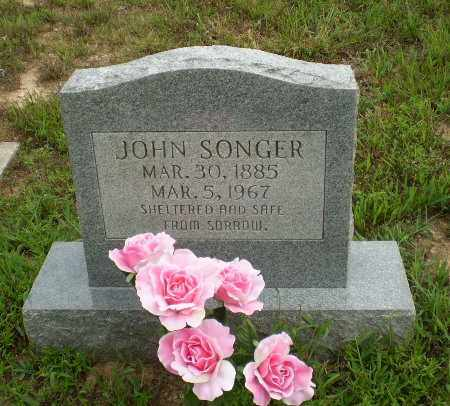 SONGER, JOHN - Greene County, Arkansas | JOHN SONGER - Arkansas Gravestone Photos