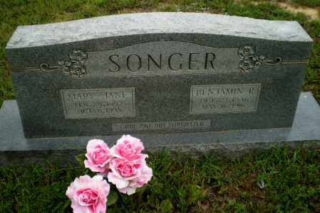 SONGER, BENJAMIN R - Greene County, Arkansas | BENJAMIN R SONGER - Arkansas Gravestone Photos