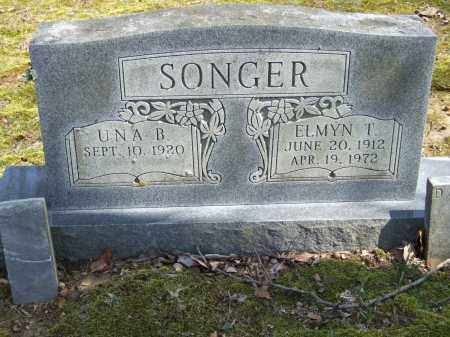 SONGER, UNA B. - Greene County, Arkansas | UNA B. SONGER - Arkansas Gravestone Photos
