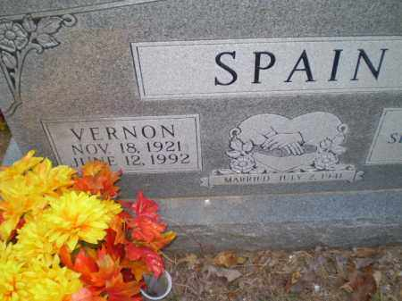 SPAIN, VERNON - Greene County, Arkansas | VERNON SPAIN - Arkansas Gravestone Photos
