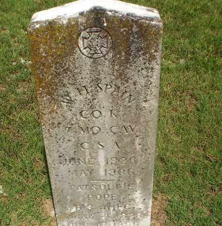 SPAIN (VETERAN CSA), W.H. - Greene County, Arkansas | W.H. SPAIN (VETERAN CSA) - Arkansas Gravestone Photos