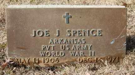 SPENCE  (VETERAN WWII), JOE J - Greene County, Arkansas | JOE J SPENCE  (VETERAN WWII) - Arkansas Gravestone Photos
