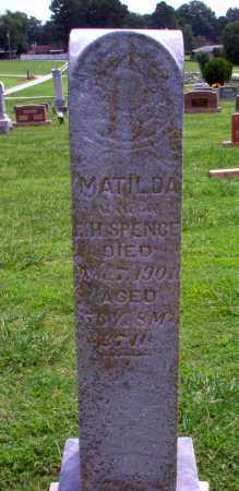 SPENCE, MATILDA - Greene County, Arkansas | MATILDA SPENCE - Arkansas Gravestone Photos