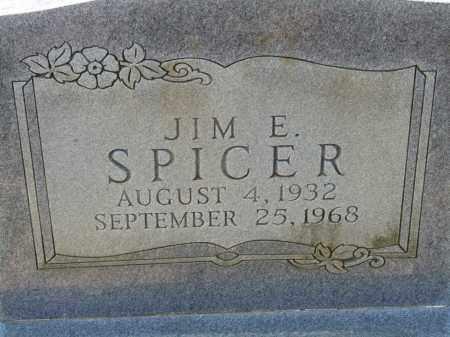 SPICER, JIM E. - Greene County, Arkansas | JIM E. SPICER - Arkansas Gravestone Photos
