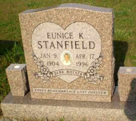 STANFIELD, EUNICE K - Greene County, Arkansas | EUNICE K STANFIELD - Arkansas Gravestone Photos
