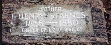 STARNES, HENRY - Greene County, Arkansas | HENRY STARNES - Arkansas Gravestone Photos