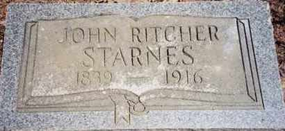 STARNES, JOHN RITCHER - Greene County, Arkansas | JOHN RITCHER STARNES - Arkansas Gravestone Photos