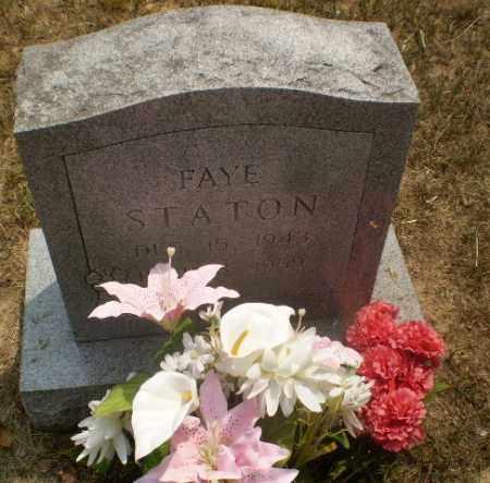 STATON, FAYE - Greene County, Arkansas | FAYE STATON - Arkansas Gravestone Photos
