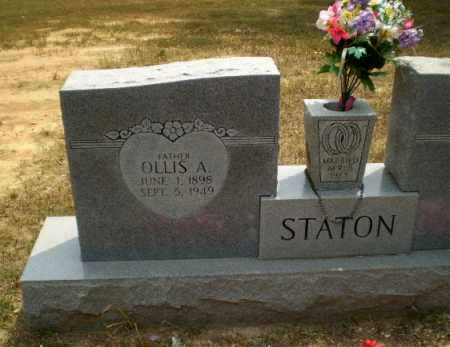 STATON, OLLIS A - Greene County, Arkansas | OLLIS A STATON - Arkansas Gravestone Photos