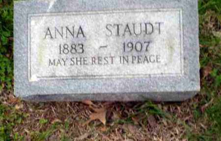 STAUDT, ANNA - Greene County, Arkansas | ANNA STAUDT - Arkansas Gravestone Photos