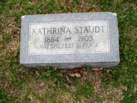 STAUDT, KATHRINA - Greene County, Arkansas | KATHRINA STAUDT - Arkansas Gravestone Photos