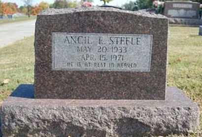 STEELE, ANCIL E. - Greene County, Arkansas | ANCIL E. STEELE - Arkansas Gravestone Photos