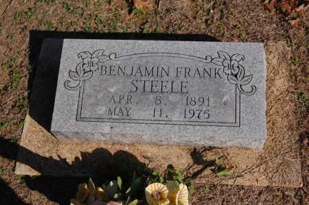 STEELE, BENJAMIN FRANKLIN - Greene County, Arkansas | BENJAMIN FRANKLIN STEELE - Arkansas Gravestone Photos