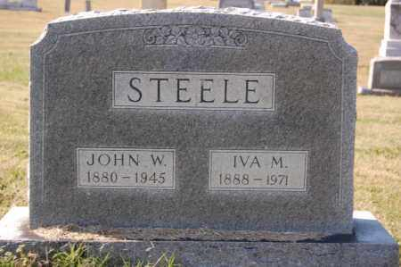 STEELE, JOHN W. - Greene County, Arkansas | JOHN W. STEELE - Arkansas Gravestone Photos