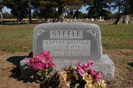 ANDIS STEELE, MARTHA MALISSIE - Greene County, Arkansas | MARTHA MALISSIE ANDIS STEELE - Arkansas Gravestone Photos