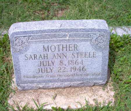 STEELE, SARAH ANN - Greene County, Arkansas | SARAH ANN STEELE - Arkansas Gravestone Photos