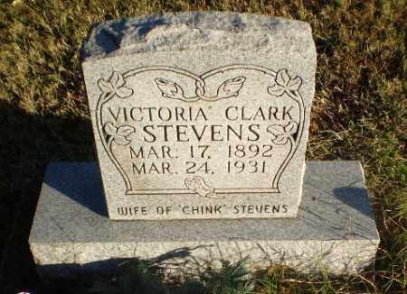 CLARK STEVENS, VICTORIA - Greene County, Arkansas | VICTORIA CLARK STEVENS - Arkansas Gravestone Photos